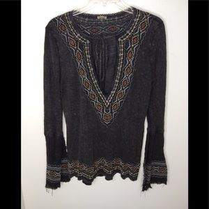 Ecote Top Womens M Urban Outfitters Embroidered